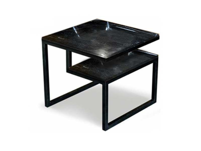 Square Double Decker Black
