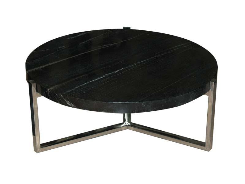 Round Black