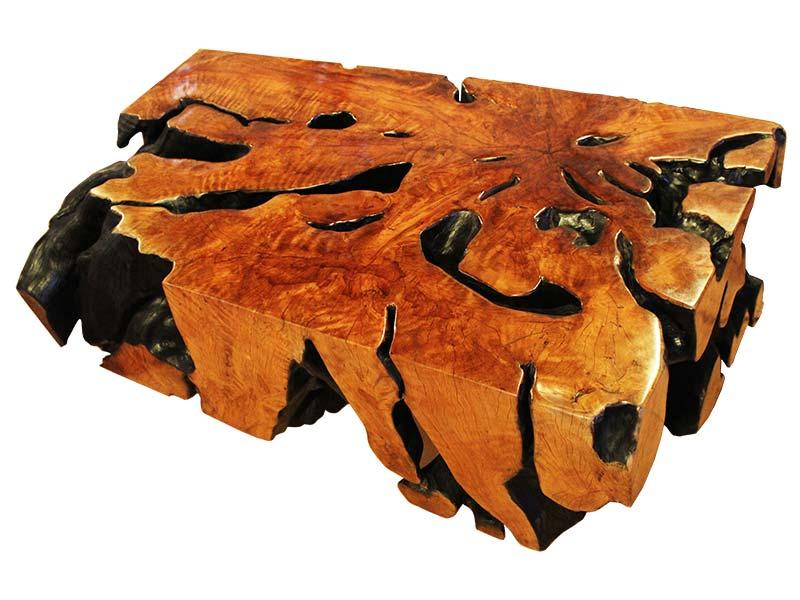 Rectangle Side Burnt Stump